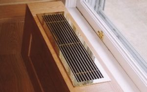 вентиляционные решетки для подоконников